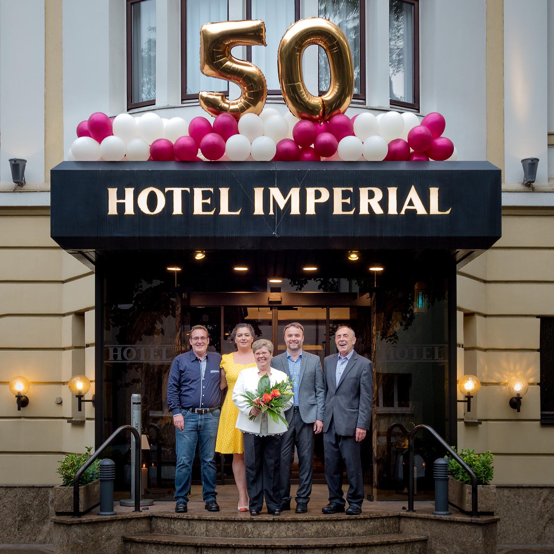 50 Jahre Hotel Imperial in Köln
