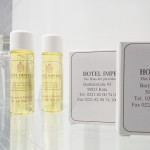 Seife und Shampoo im Hotel Imperial Köln
