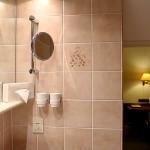 Badezimmer im 3 Bettzimmer - Hotel Imperial