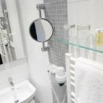 Frisch renovierte Badezimmer im Hotel Imperial Köln