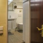 Blick ins Badezimmer - Zimmer 35