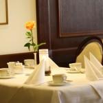 Kaffeegedecke im Restaurant - Hotel Imperial