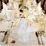 Festliche Tafel im Restaurant - Hotel Imperial