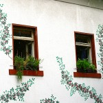 Bunte Hausfassade in Ehrenfeld