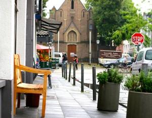 Ehrenfeld hat viele kleine Cafés