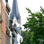 Körnerstraße mit Blick auf St. Joseph