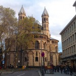 St. Aposteln Kirche in der Nähe vom Neumarkt
